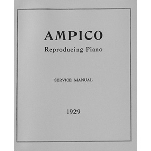 Ampico Service Manual