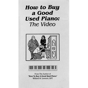 How To Buy A Good Used Piano: The Video