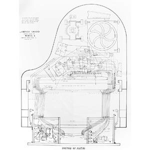 Ampico Model A Tubing Chart