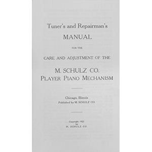 Schultz Player Action Manual