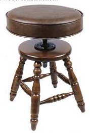 Padded Top Piano Stool