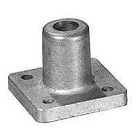 Cast Metal Square Socket