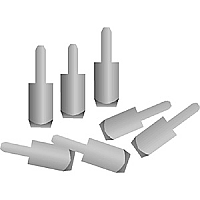 Aluminum Key Bushing Wedges