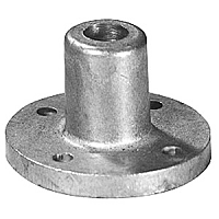 Cast Metal Round Socket